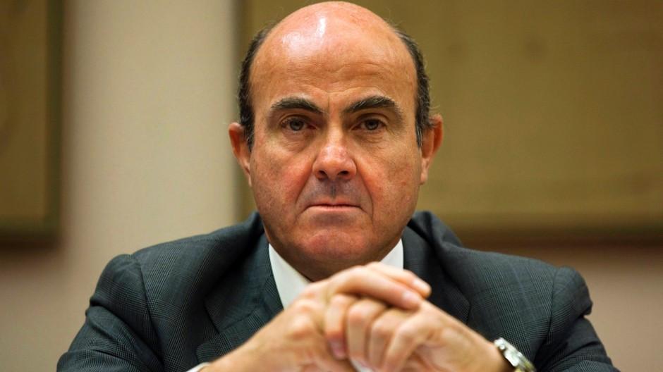 Wirtschaftsminister Luis de Guindos