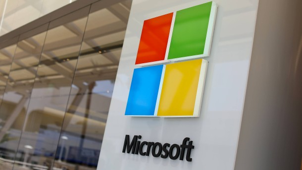 Die Cloud hilft Microsoft