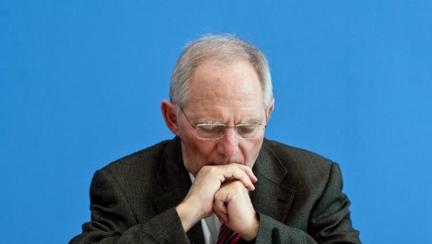 Schäubles scheinsolide Finanzplanung