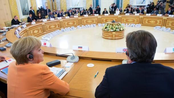 G20 Gipfel in St. Petersburg