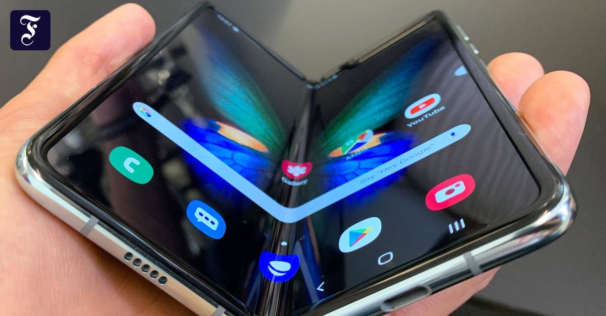 Faltbare Handys
