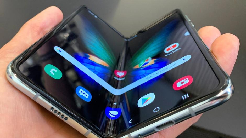 Das lange erwartete faltbare Smartphone von Samsung
