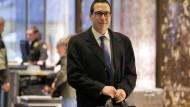 Designierter Finanzminister muss sich vor Senat verteidigen