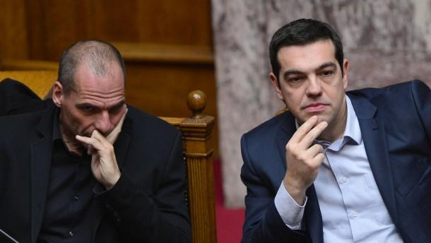 Tsipras ist auf Distanz zu Varoufakis
