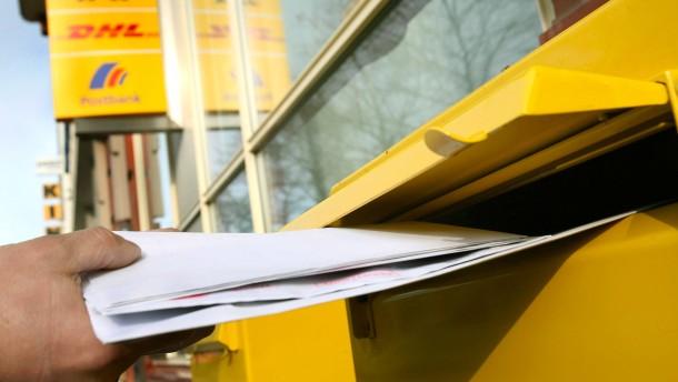 Porto Für Briefe Inland : Deutsche post erhöht porto für briefe auf cent