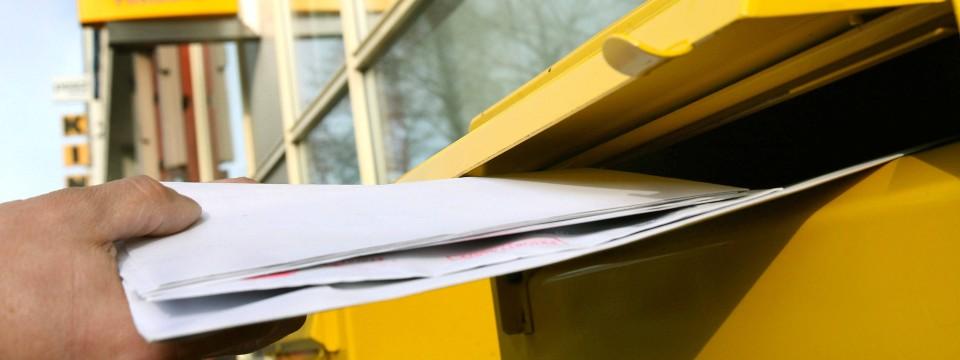 Briefe Für 3 Cent Versenden : Deutsche post erhöht porto für briefe auf cent