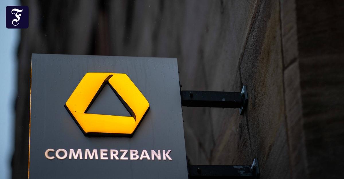 Commerzbank macht höchsten Verlust seit Finanzkrise - FAZ - Frankfurter Allgemeine Zeitung