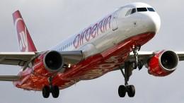 Air-Berlin-Flieger steckt auf Island fest