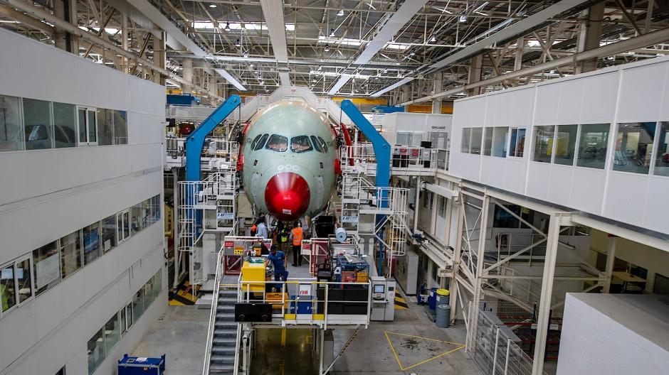 Airbus-Werk in Toulouse