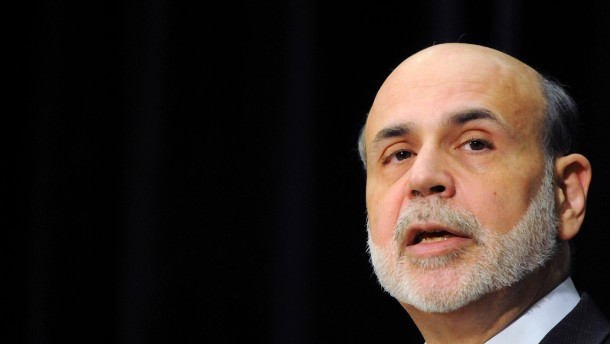 Notenbankchef Bernanke redet bald