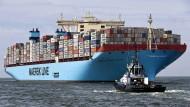 Diese Reederei verdient schlecht