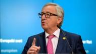Jean-Claude Juncker ist seit 2014 EU-Kommissionspräsident.