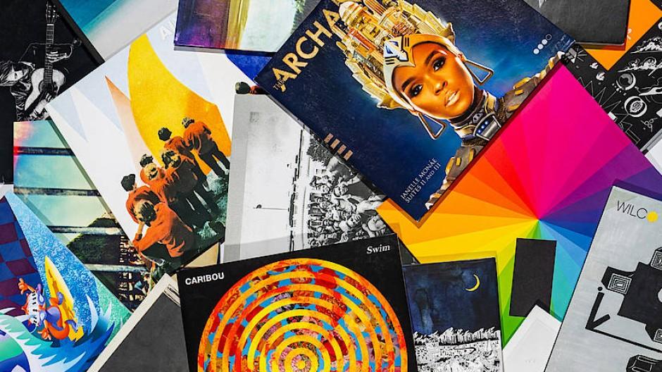 Schallplatten bleiben auch in den zehner Jahren die haptischste Form, Musik zu hören.