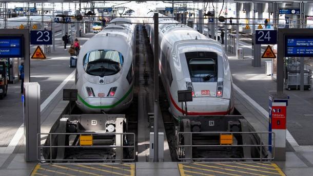 Mehr innerdeutsche Zugfahrten zu Pfingsten