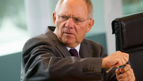 Schäuble schließt drittes Rettungspaket nicht aus