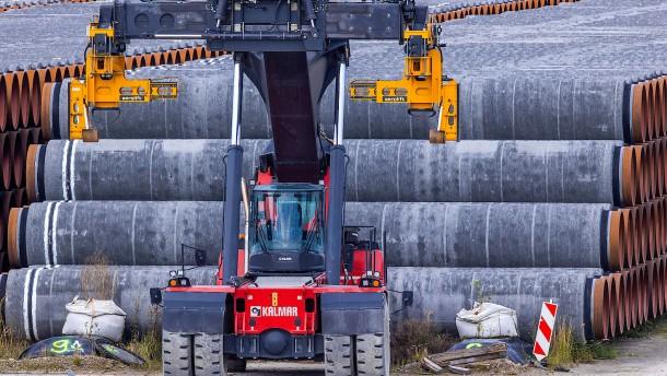 Nord-Stream-Sanktionen nicht klar rechtswidrig