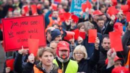 IG Metall droht Siemens mit Streiks
