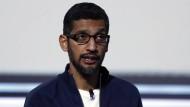 Sundar Pichai ist Vorstandschef von Google.