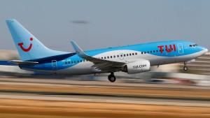 TUI leidet unter Boeing-737-Ausfall