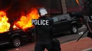 Mindestens 95 Menschen bei Protesten festgenommen