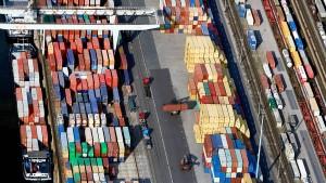 Die deutsche Produktion sinkt