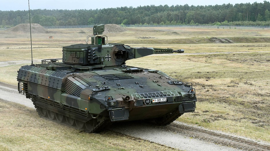 Der Schützenpanzer Puma aus dem Hause Rheinmetall