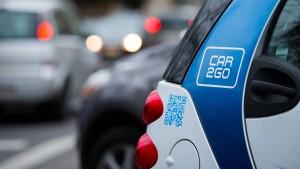 Neue Privilegien für Nutzer von Carsharing