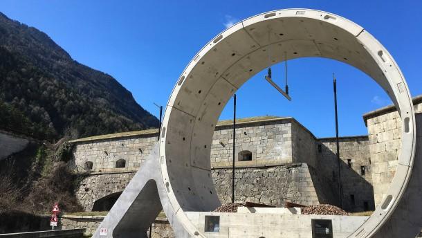 Baustopp am Brennerbasistunnel