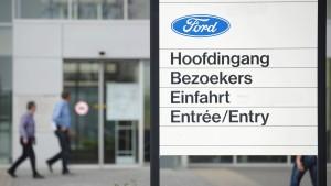 Gewerkschaften erwarten Ford-Werksschließung in Belgien