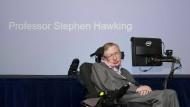Astrophysiker Stephen Hawking.