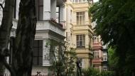 Kein Neubau, aber trotzdem begehrt: Wohnhäuser im Rheingauviertel in Wiesbaden.