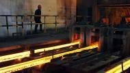 Chinas Stahlüberkapazitäten belaufen sich angeblich auf 300 Millionen Tonnen.