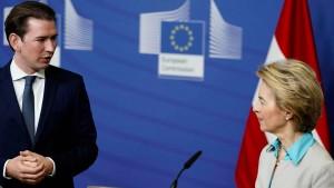 Kurz verlangt von EU-Kommission Neuverhandlung