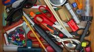 Chaos in der Büroschublade – ist das nun gut oder schlecht?