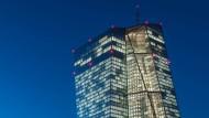 Mächtige Währungshüter: Im Dezember hat die Europäische Zentralbank beschlossen, ihre Wertpapierkäufe zu verändern.
