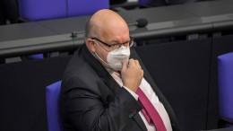 Rechnungshof rügt Altmaier wegen hoher Strompreise