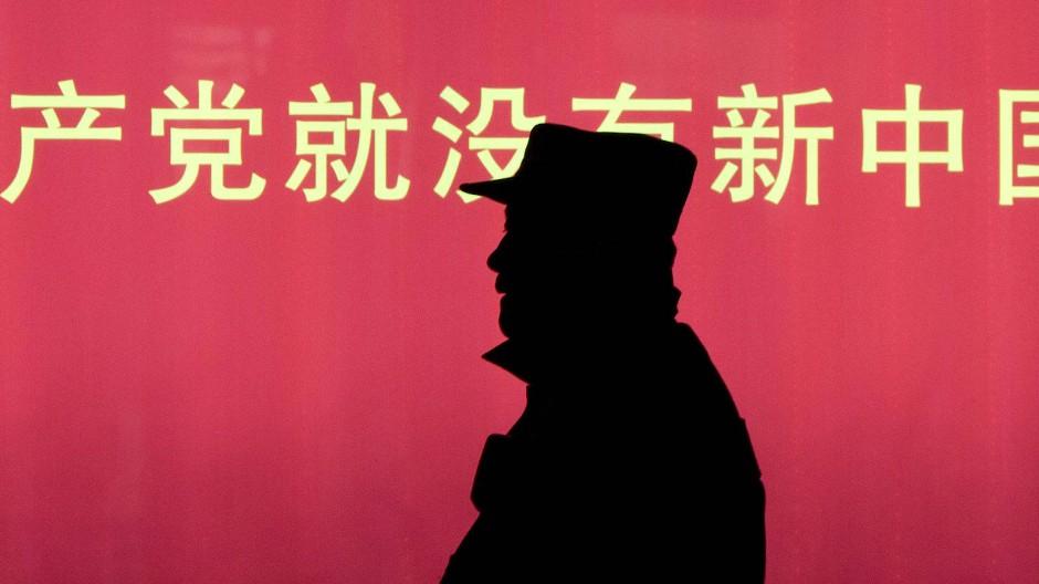 In China übt der Staat eine große Kontrolle auf viele Unternehmen auf.