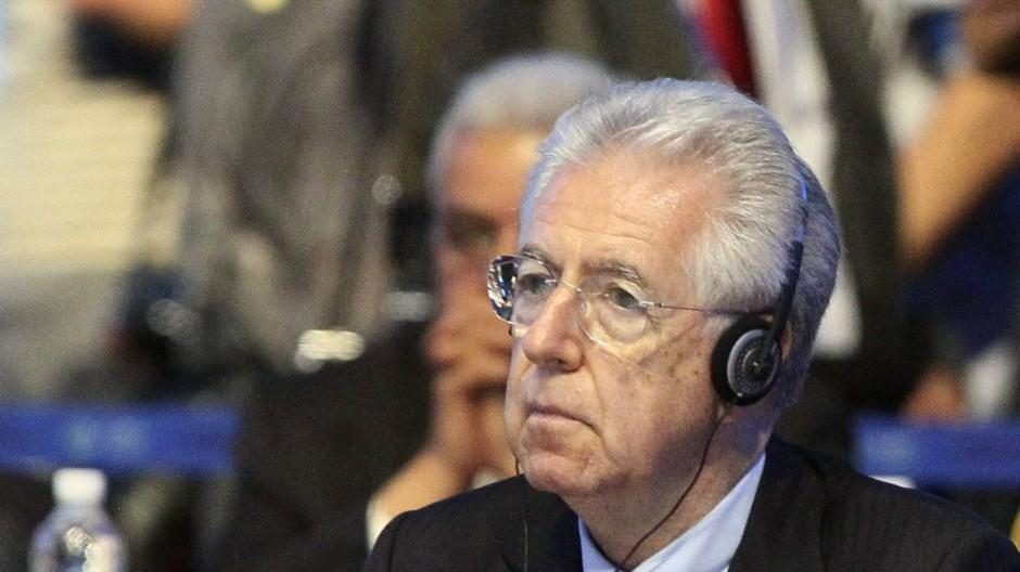 Italiens Ministerpräsident Mario Monti
