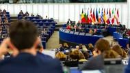 In Straßburg stimmen Abgeordnete des EU-Parlaments über den Haushaltsentwurf für das Jahr 2020 ab.