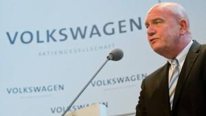 VW-Betriebsratschef: Wir müssen Batterien bauen