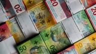 Das Geld des reichsten Landes der Welt: Schweizer Franken