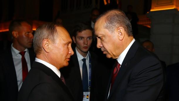 Putin und Erdogan beschließen Gaspipeline