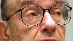 Alan Greenspan senkt erneut die Zinsen