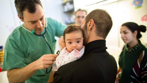 Regierung zapft Gesundheitsfonds für Asylbewerber an
