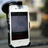 Uber vermittelt Fahrten via Smartphone-App