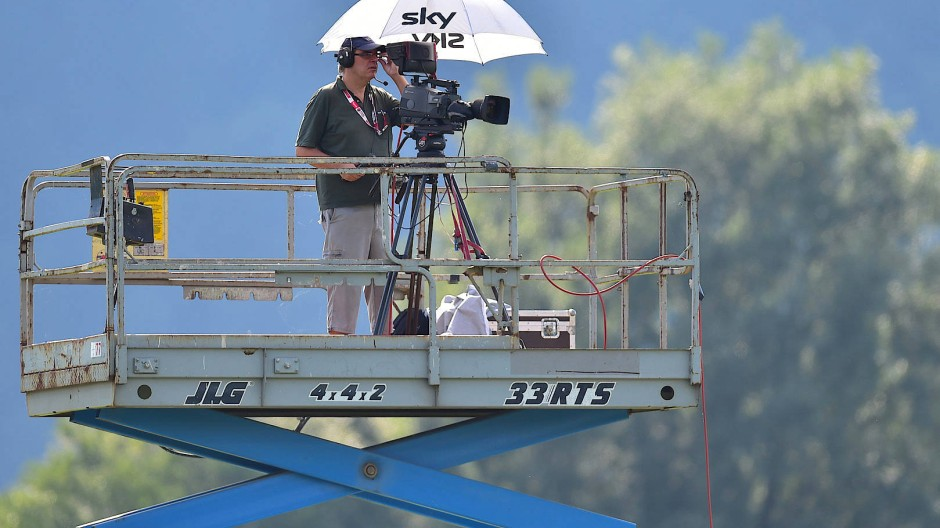 Platzhirsch: Sky ist der wichtigste Medienpartner der Bundesliga.