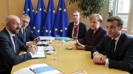 Kaum Hoffnung auf einen Durchbruch beim EU-Haushalt