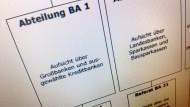 Abteilung BA1: Das Ressort von Frauke Menke