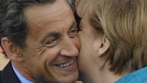 Küsschen für den Euro