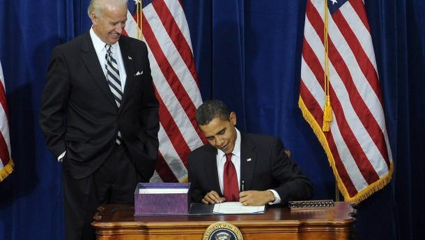 US-Präsident Obama unterzeichnet Rekord-Konjunkturpaket